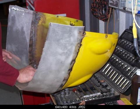 lbushrod's Album: Rotax 582 Jabiru 2200 Retro-fit
